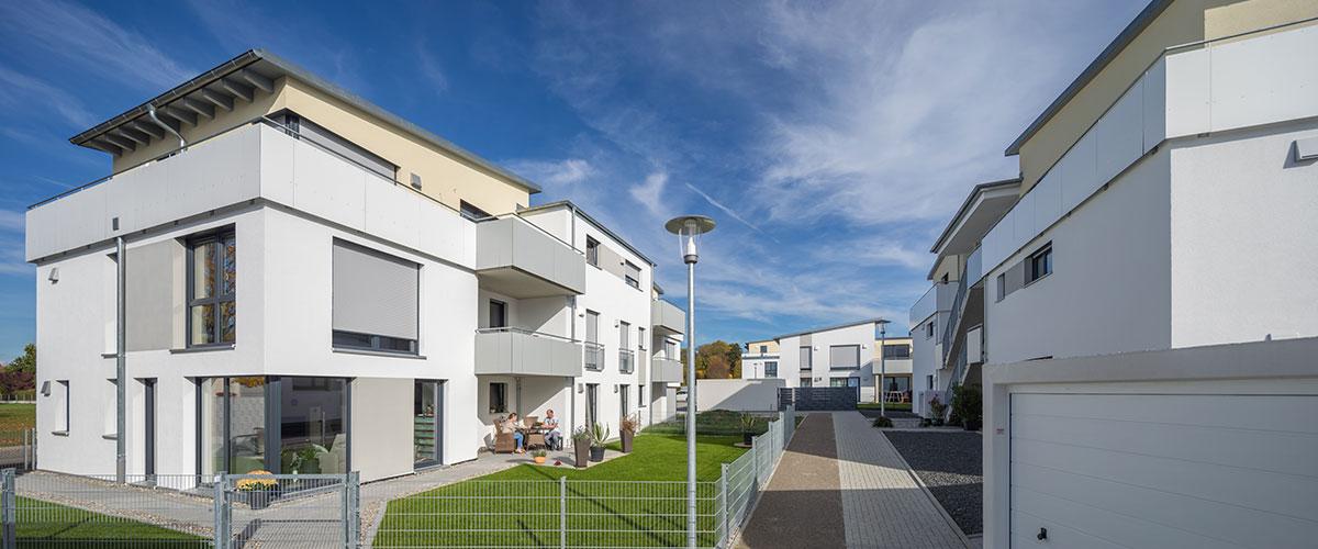 Individueller Wohnraum in der schlüsselfertig erstellten Wohnanlage