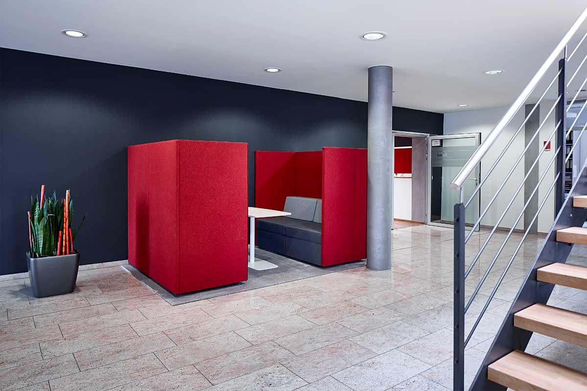 Besprechungsräume für jeden Anlass beim Bauunternehmen bendl in Günzburg.