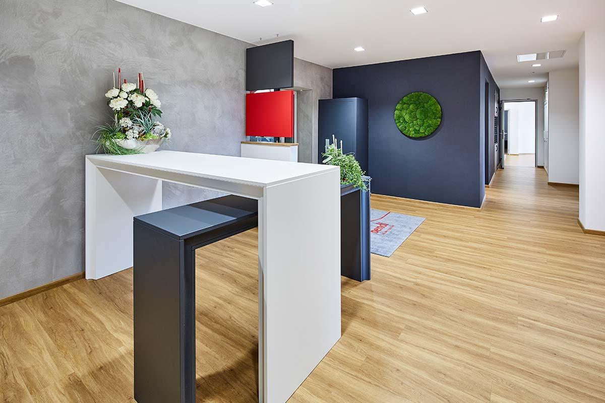 Besprechungsräume so individuell wie Ihr Bauvorhaben. Bauunternehmen bendl in Günzburg.