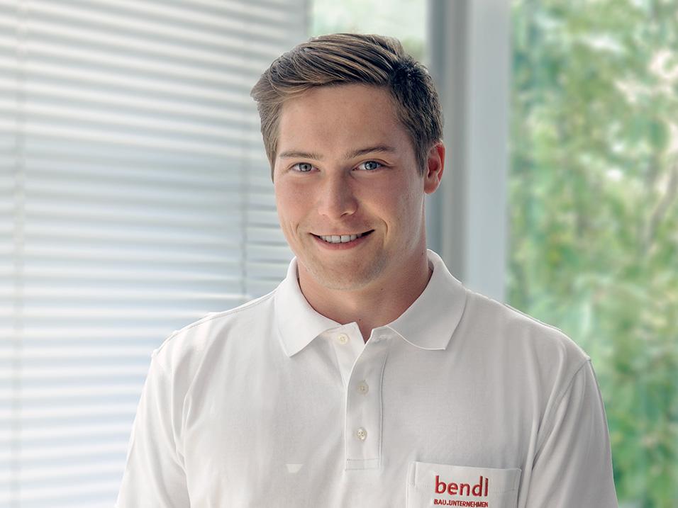Dualer Student Philipp Schmid - Bauunternehmen bendl Günzburg