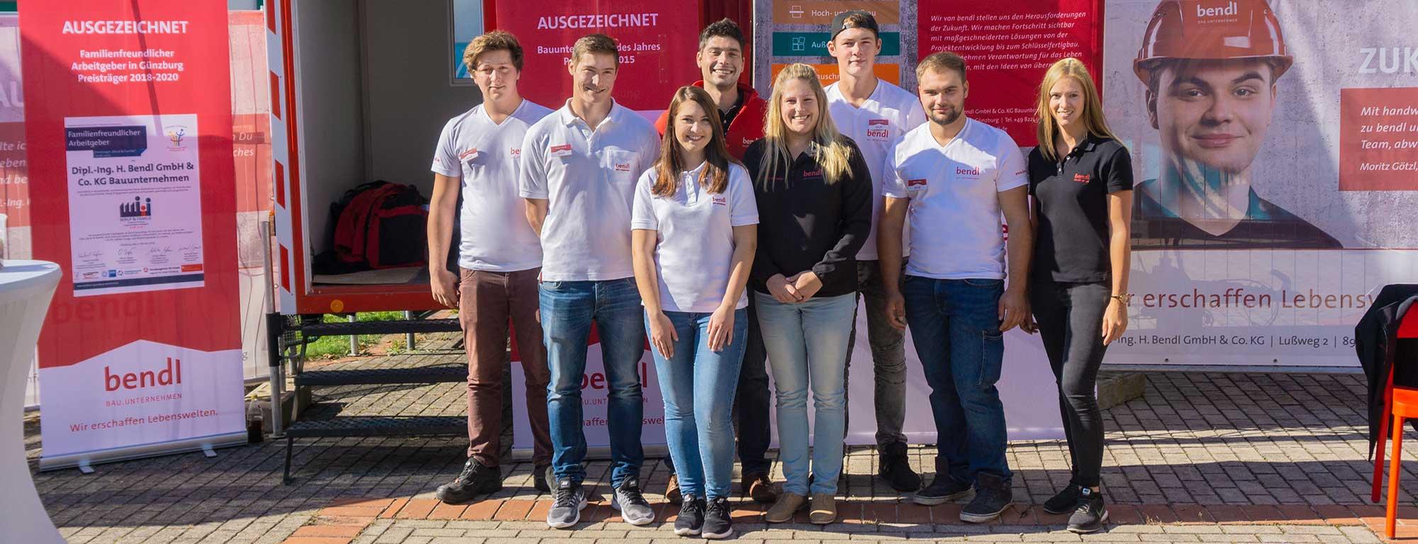 Das bendl-Team bei der IBS 2018 in Günzburg