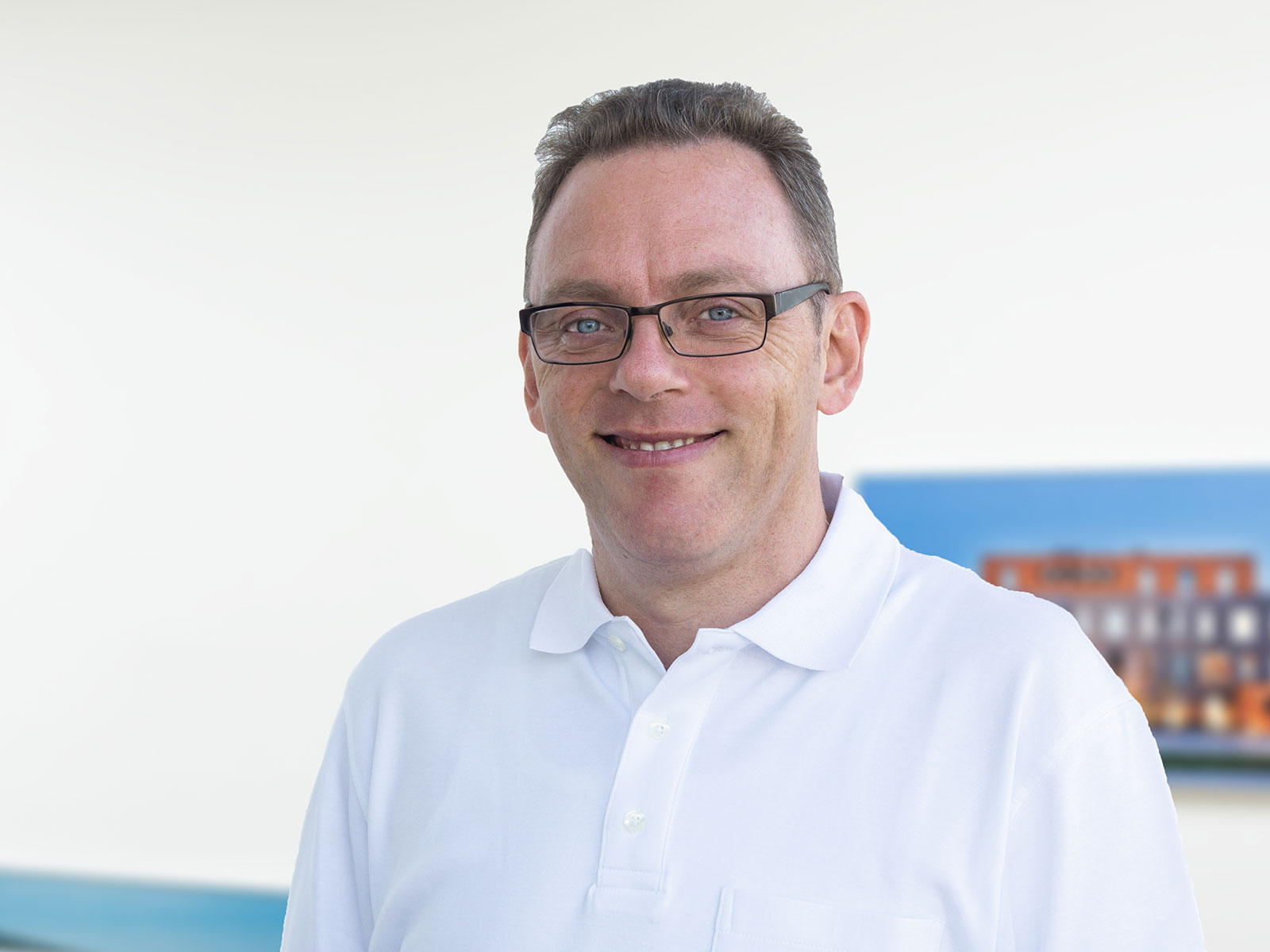 Christian Schwarz, IT-Systemadministrator beim Bauunternehmen bendl in Günzburg