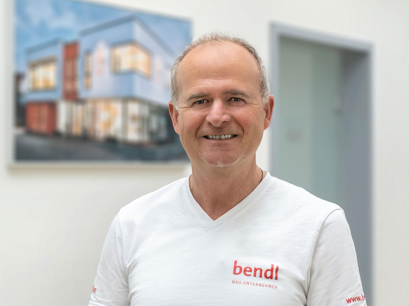 Michael Klingler, Bauleiter Außenanlagen & Tiefbau beim Bauunternehmen bendl