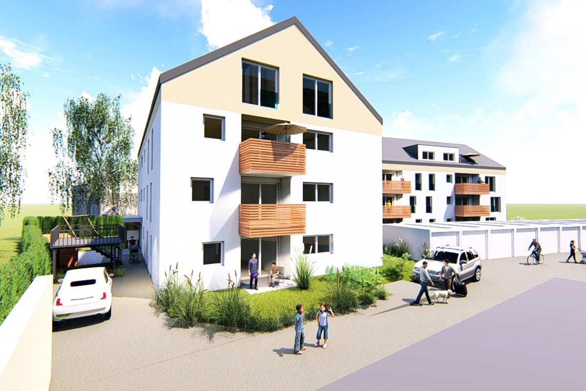Die Mehrfamilienhäuser in Sontheim an der Brenz bieten alles für ein ruhiges Wohnen in zentraler Lage.