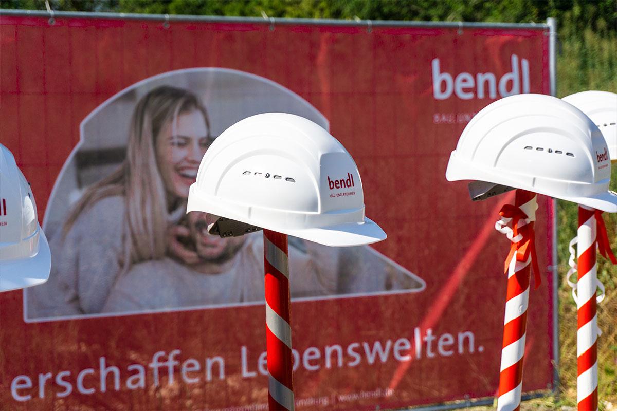 Spatenstich für die Wohnanlage mit 40 Eigentumswohnungen in Gerstetten.