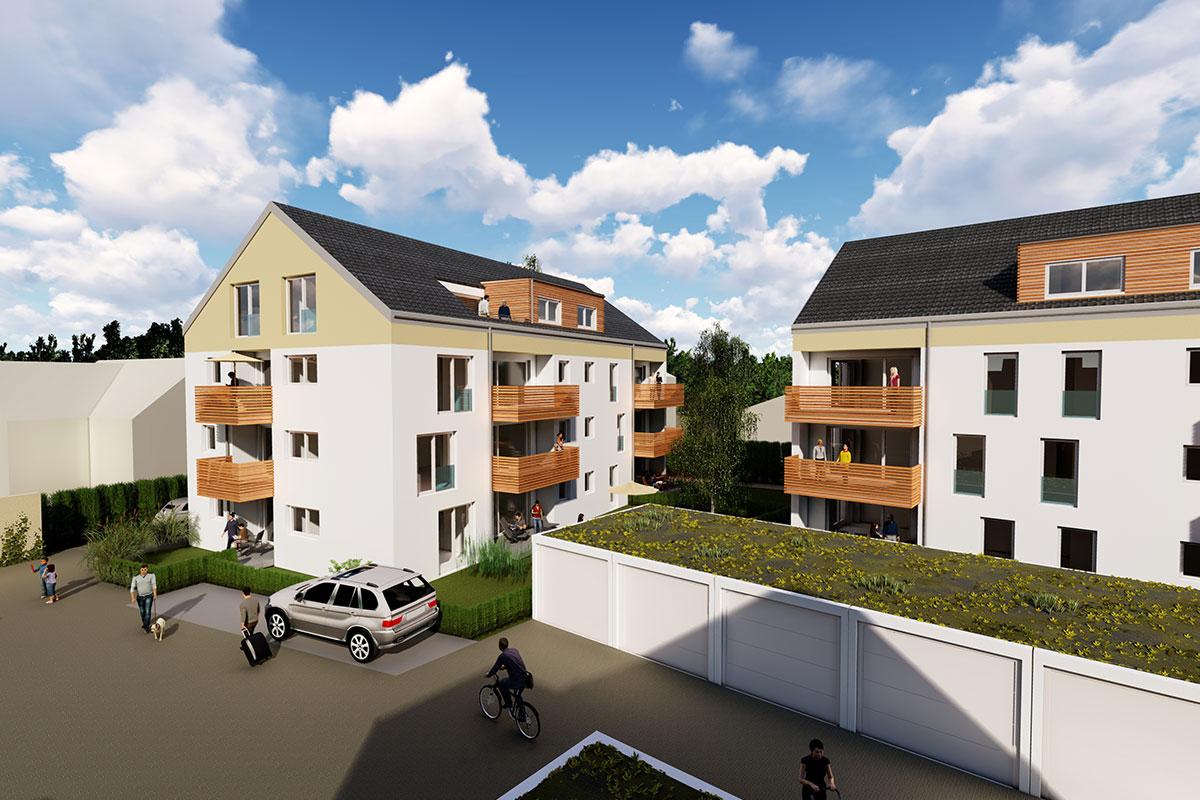 Das Bauprojekt Südherz mit seinen drei Mehrfamilienhäusern verfügt über tolle Eigentumswohnungen mit 2-4 Zimmerwohnungen. Jetzt informieren.