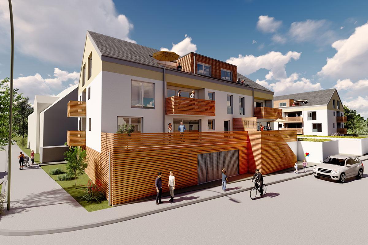 Einladende Eigentumswohnung zum Kauf in Sontheim Bauprojekt Südherz.