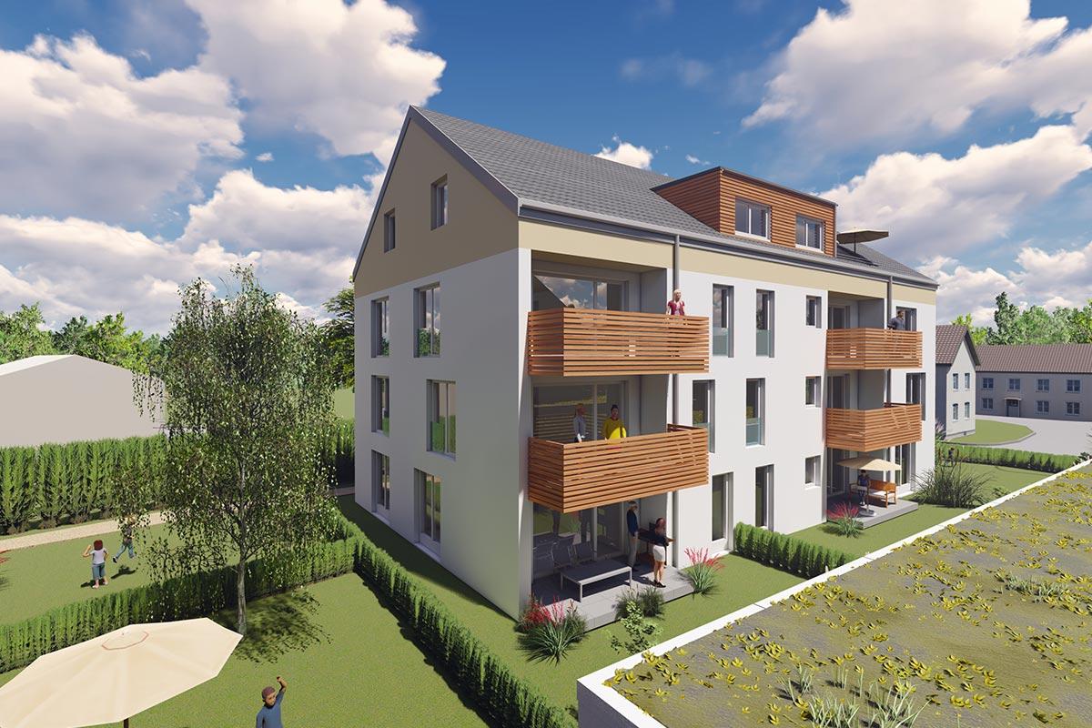 Helle und freundliche Eigentumswohnungen zum Kauf in Sontheim - Bauvorhaben Südherz in Sontheim. Jetzt zuschlagen.