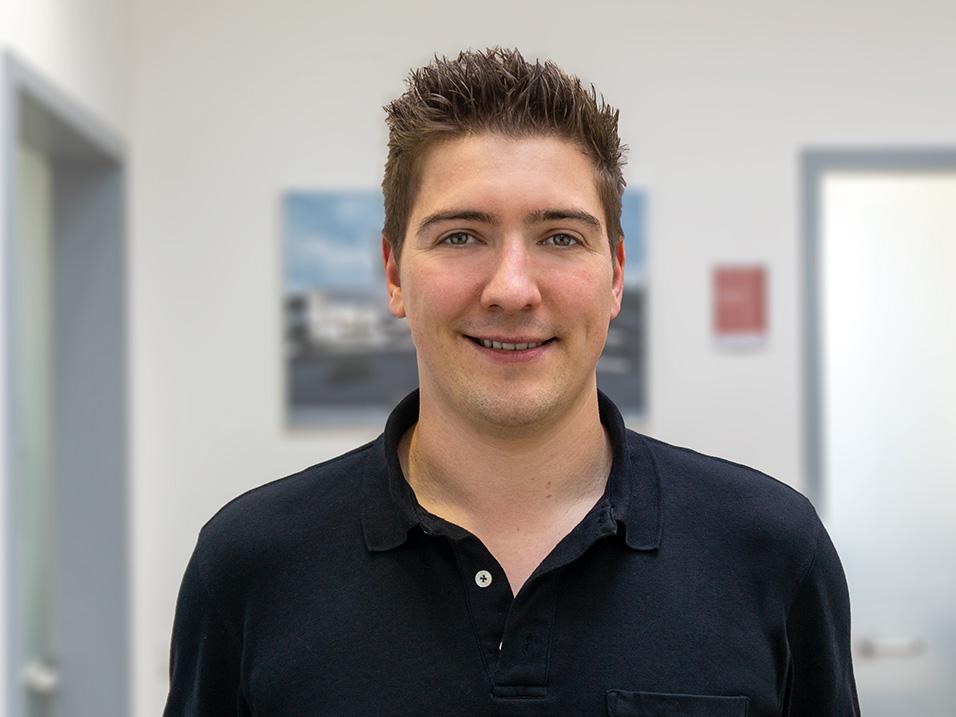 Florian Uhl Abteilung Kanalsanierung vom Bauunternehmen bendl