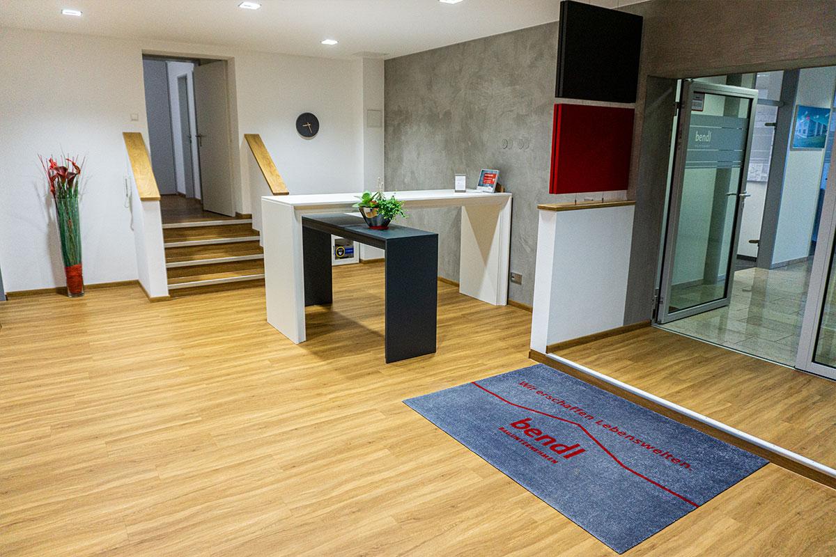 Wir gestalten auf Ihre Räumlichkeiten völlig neu und ganz nach Ihren Wünschen und Bedürfnissen. Bauunternehmen bendl Günzburg.