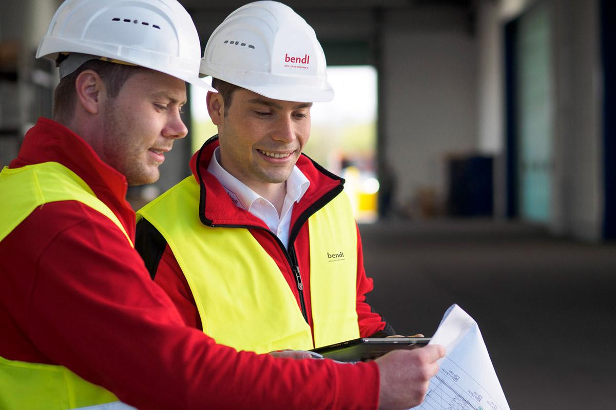 Starte auch Du Deine Ausbildung zum Bautechniker beim Bauunternehmen bendl in Günzburg.