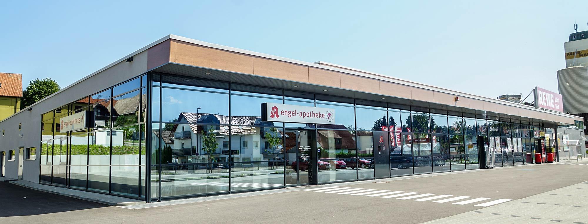 Einkaufszentren bauen mit bendl Bauunternehmen.