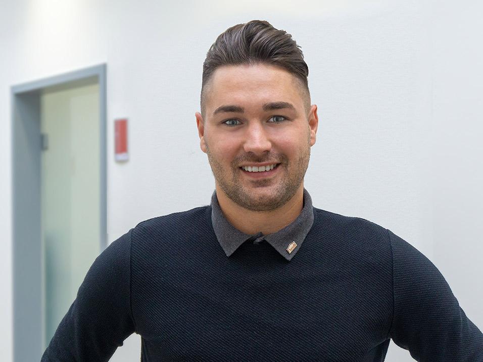 Damian Lasar Einkäufer Schlüsselfertigbau beim Bauunternehmen bendl in Günzburg