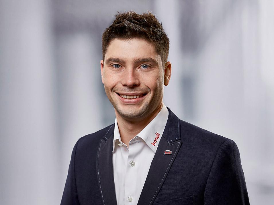 Peter Finkel vom Bauunternehmen bendl in Günzburgen