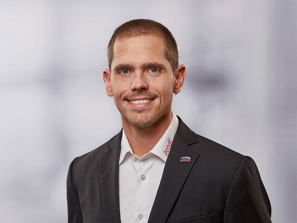 Simon Forster vom Bauunternehmen bendl in Günzburg