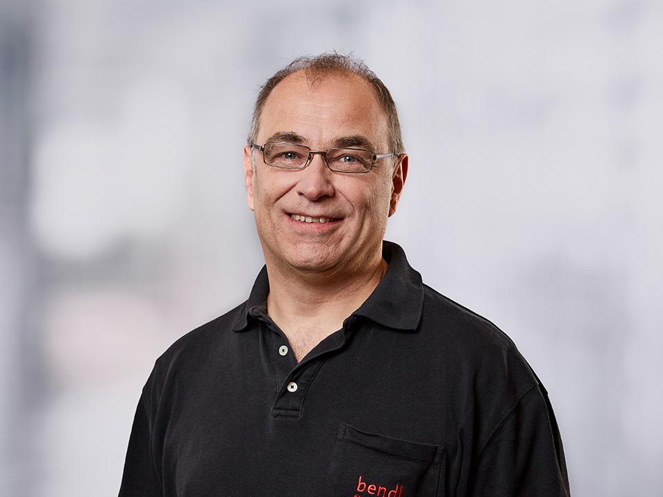 Ralf Hieber vom Bauunternehmen bendl in Günzburg