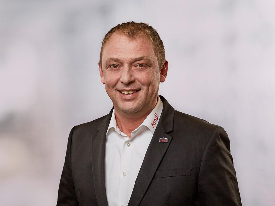 Mladen Medimurec vom Bauunternehmen bendl in Günzburg