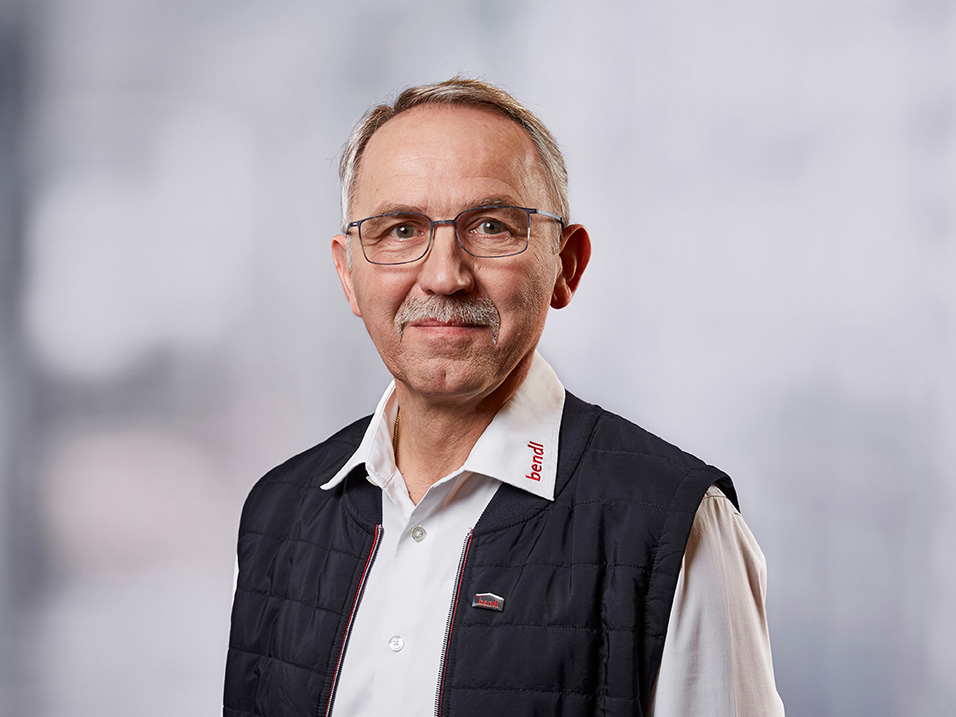 Anton Schäffler vom Bauunternehmen bendl in Günzburg