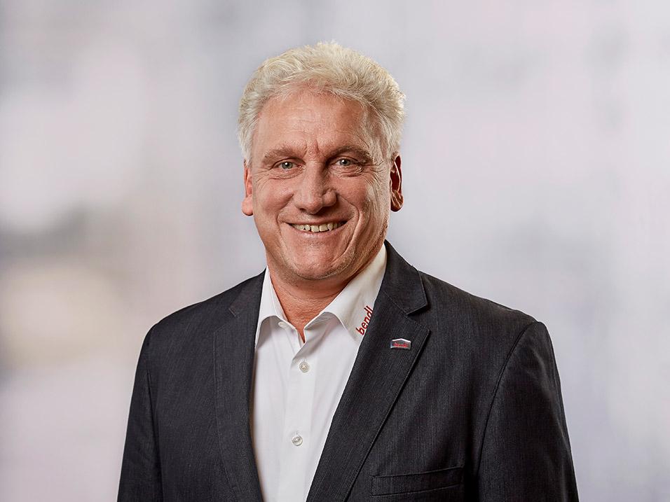 Raimund Strobl vom Bauunternehmen bendl in Günzburg