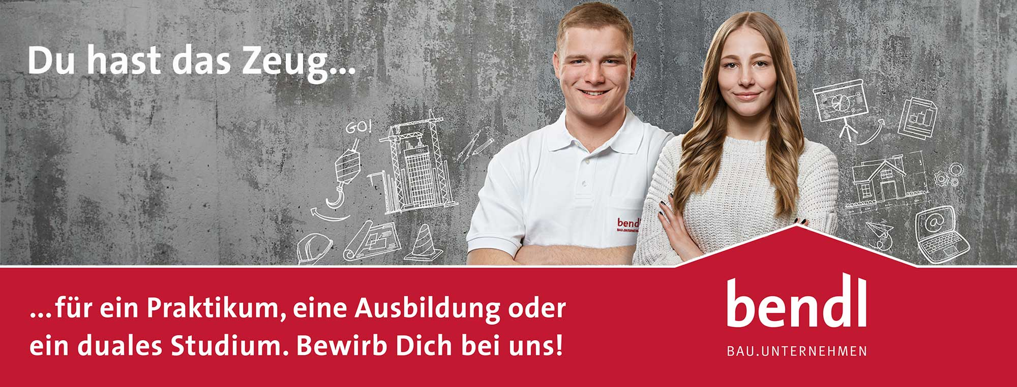 Ausbildungsberufe 2021 Günzburg Bauunternehmen bendl Günzburg Maurer Beton- und Stahlbetonbauer uvm.
