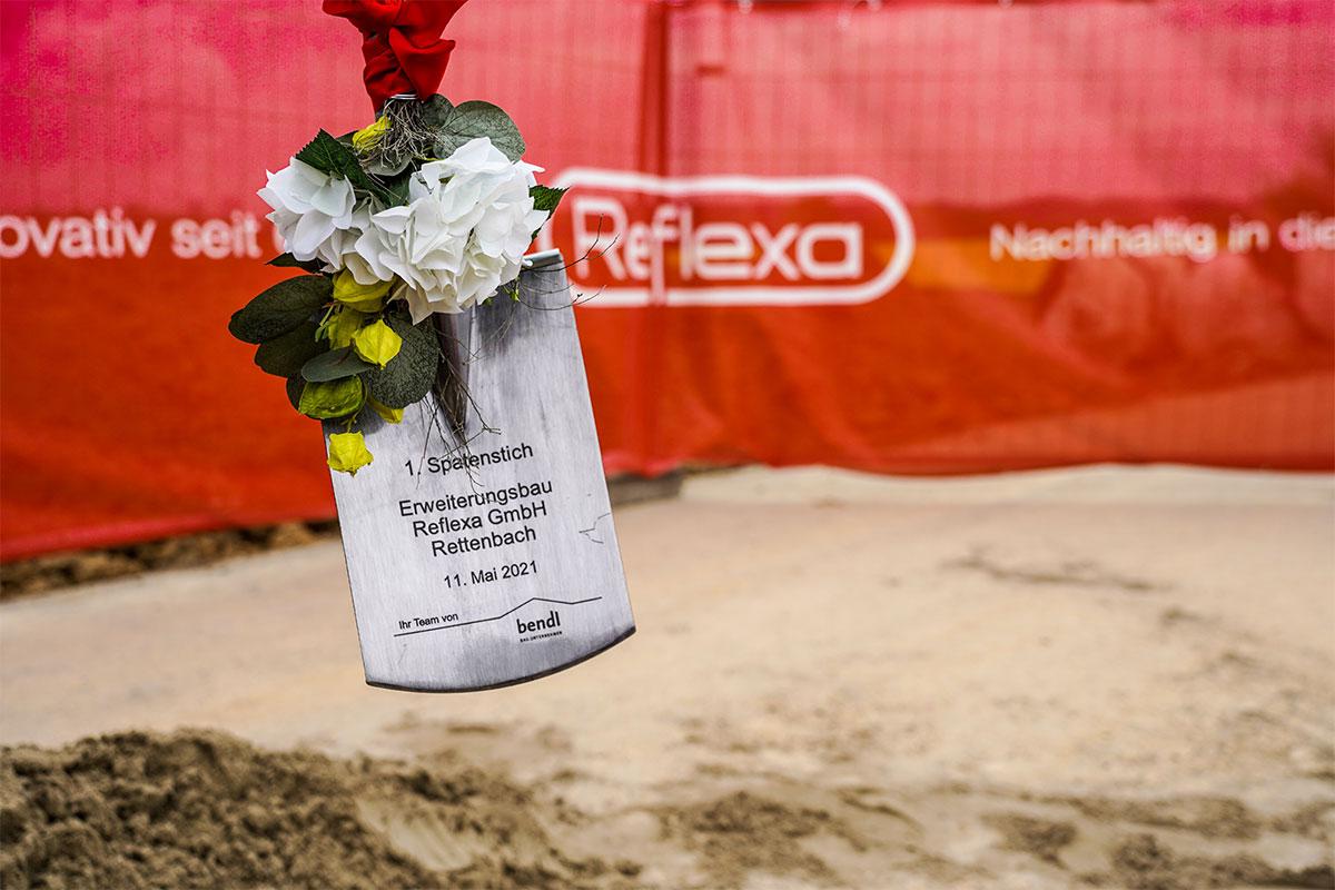 Das gesamte Team vom Bauunternehmen bendl freut sich das Projekt für Reflexa zu realisieren.