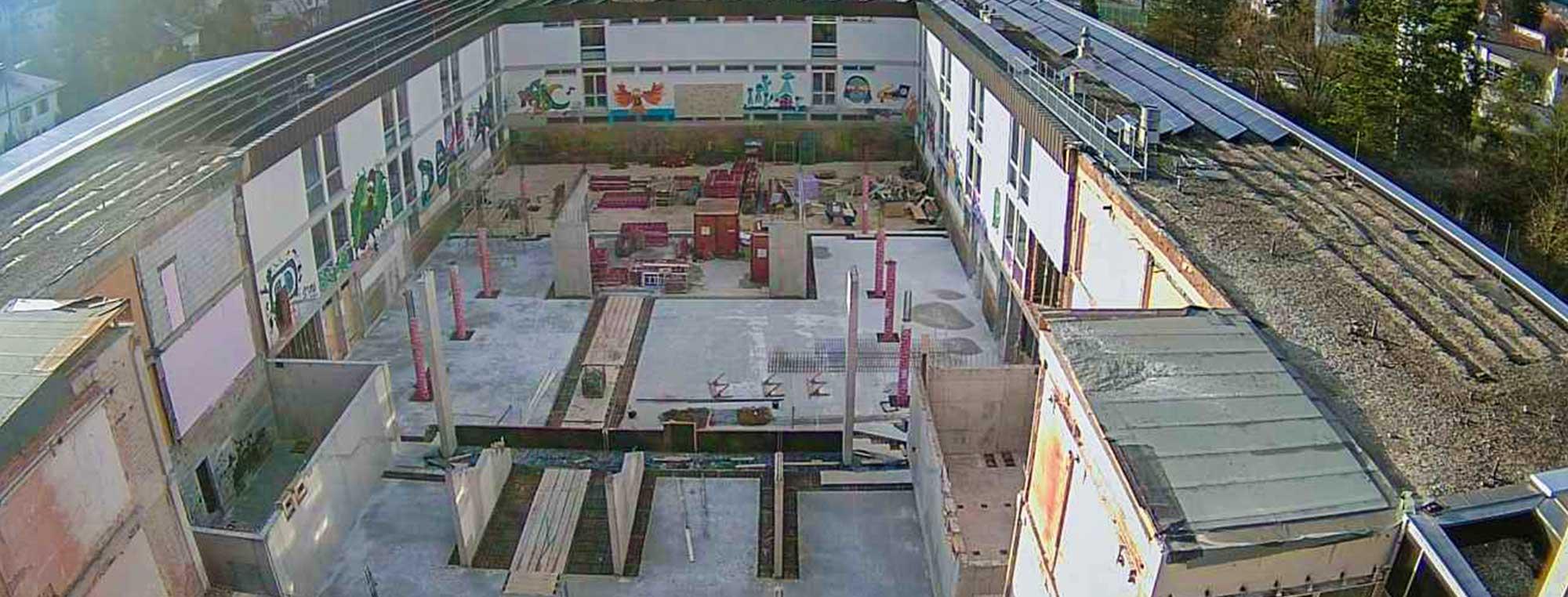 Umbau und Erweiterung Dossenberger Gymnasium in Günzburg.
